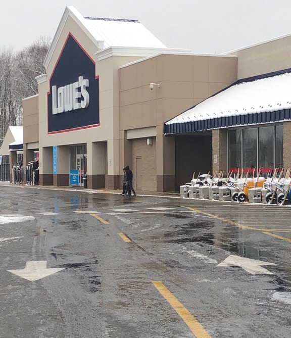 Commercial Retailer Snow Removal